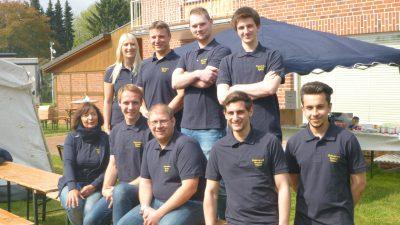 Das Team der Firma Elektrotechnik Wernicke