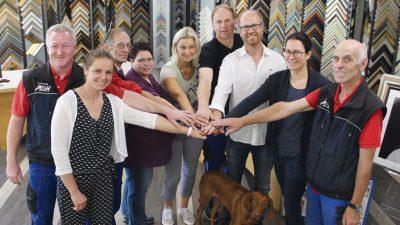 Das Team von Firma Glas Peter