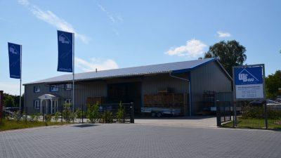 Der Firmensitz der Firma Witt Baugesellschaft in Marxen