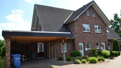 Doppelhaus gebaut von Firma Koch Haus