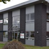 Der Firmensitz der Firma Akkurat in Buchholz i.d.N.