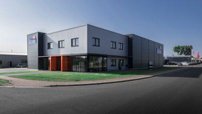 Das Firmengebäude von Team Matthies