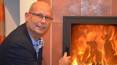 Stephan Mestmacher ist geschäftsführender Gesellschafter der Firma Mertens Ofentechnik