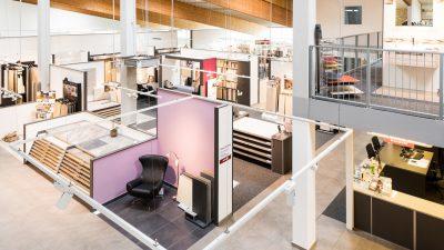 Firmenausstellung von Fliesen Henke