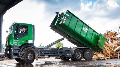 Heinz Husen Containerdienst entsorgt Sperrmüll