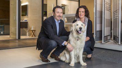 Geschäftsinhaber Matthias Stevenz und Anja Stevenz