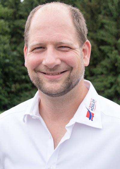 Geschäftsinhaber Tim Kögler