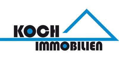 Das Logo der Firma Koch Immobilien
