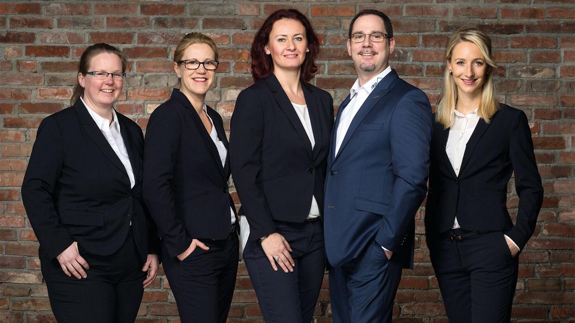 Das Team der Firma Koch Immobilien