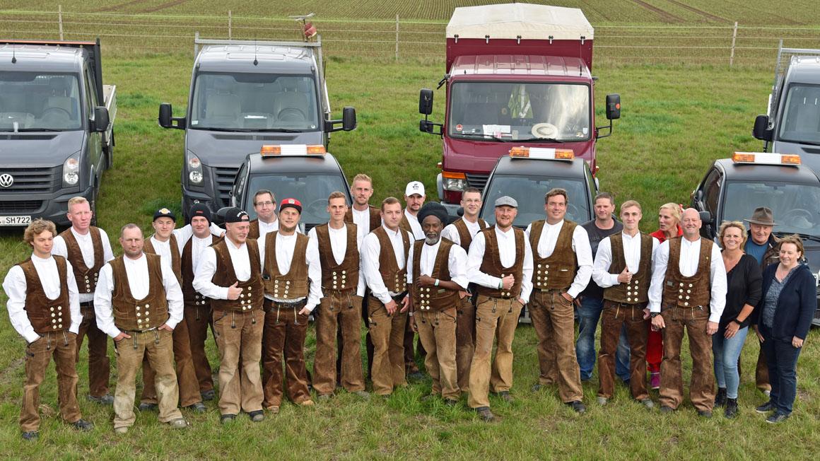Das Team von Steffen Heuer