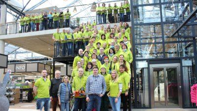 Das Team am neuen Standort in Emmelndorf