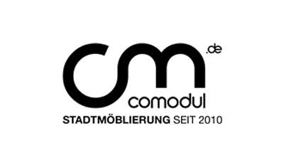 comodul Stadtmöblierung, Logo